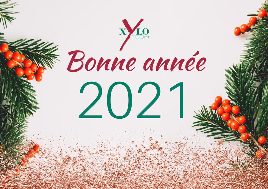 bonne année 2021 Xylotech