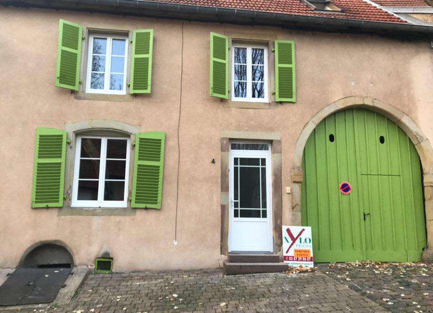Portes et fenêtres avec croisillons Xylotech