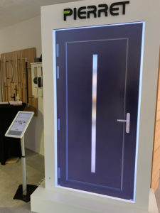 simulateur porte d'entrée pierret xylotech